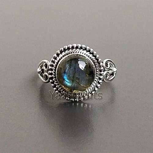 Labradorite Ring Sterling Silver