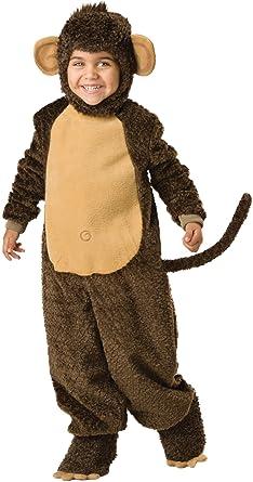 incharacter costumes babys lil monkey costume brown - Halloween Monkey Costumes