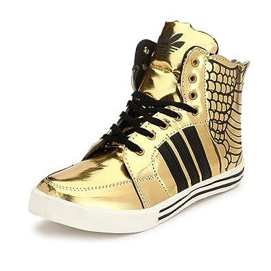 0bfaeee3 Parmar foot style Men's Casual Sneaker Hip Hop Shoe: Buy Online at ...