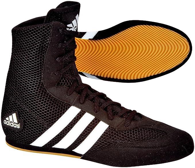 Adidas Box Hog - Zapatillas para boxeo, black / black / running white, 12