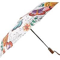 "Anuschka Umbrella AUTO Open/Close   UPF 50+   38"" Waterproof Windproof Canopy"