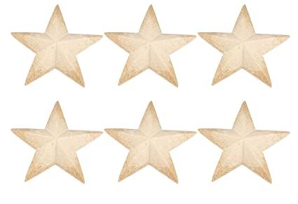 3d Wood Star 6 Pack Unfinished Wooden Star Large Star Pieces Craft Stars Diy Star For Kids Art Classroom Christmas Tree Holiday July 4th