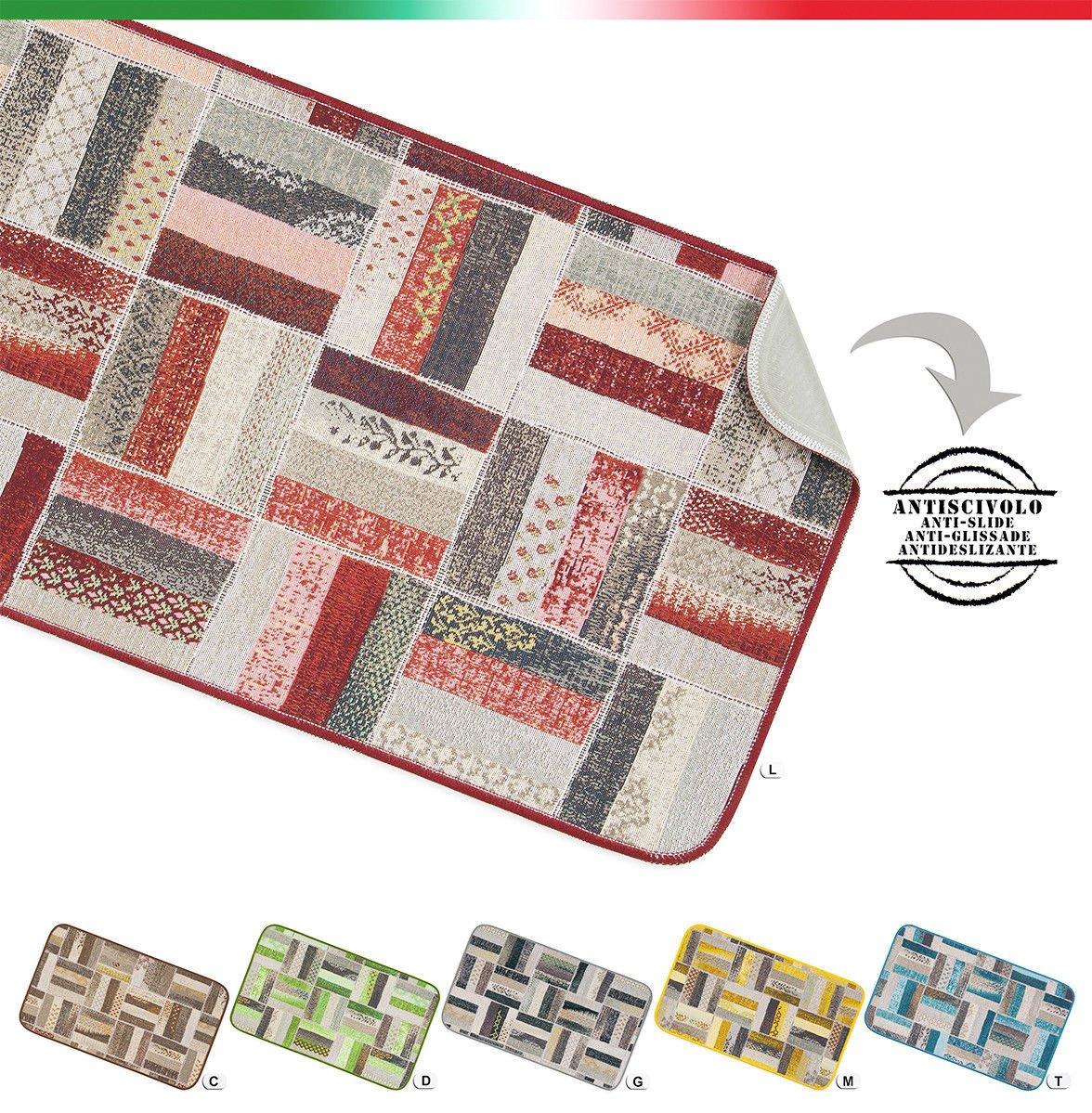 Huella Deco h1308-do Colors Alfombra doormate Mat Floor Vinilo 40/x 70/cm