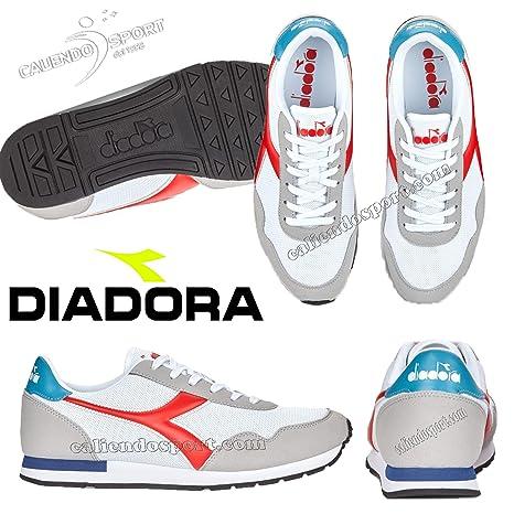 Diadora Scarpe Breeze 171437 C0823 Unisex Bianco Rosso Palestra Casual Uomo  Donna 4da889a7e43