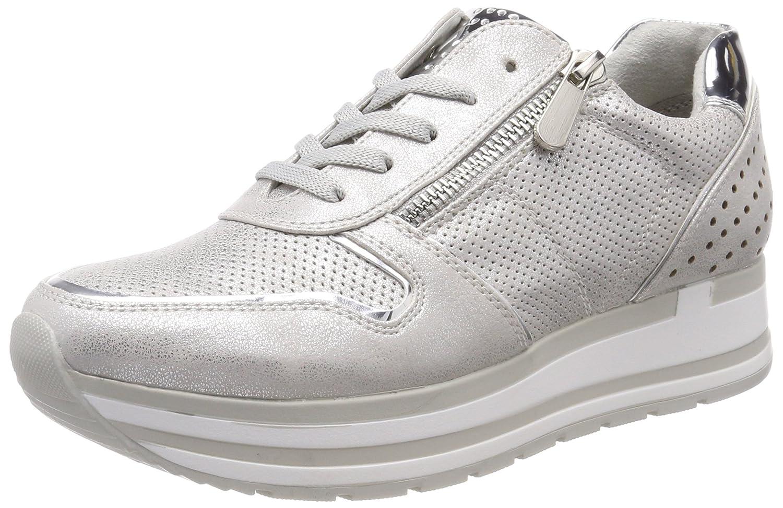 Marco Tozzi 23717, Zapatillas para Mujer 39 EU|Plateado (Silver Comb)