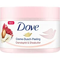 Dove 多芬 Creme-Dusch-Peeling 系列淋浴磨砂膏,石榴和乳木果油,4 件装(4 x 225 毫升)