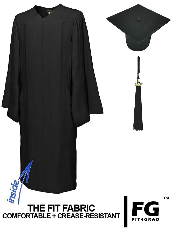 Amazon.com: College Fashion Graduation Cap Gown Tassel Year Charm ...