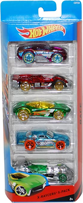 Hot Wheels X-Raycers 5-Pack by Hot Wheels: Amazon.es: Juguetes y juegos