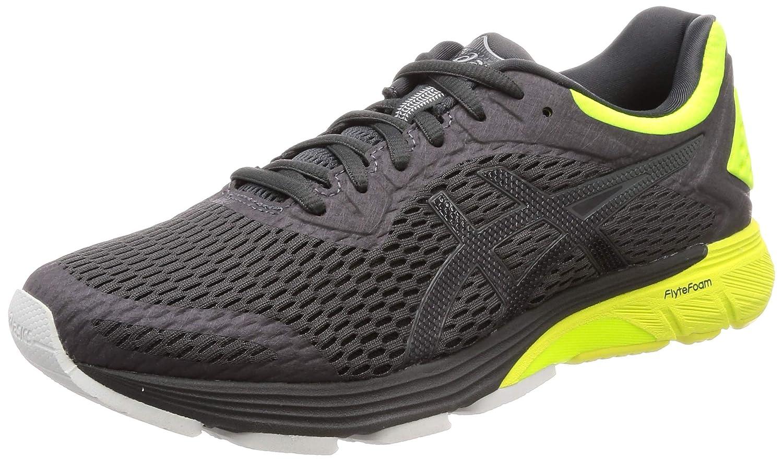 MultiCouleure (Dark gris Safety jaune 020) 42 EU ASICS Gt-4000, Chaussures de FonctionneHommest Compétition Homme