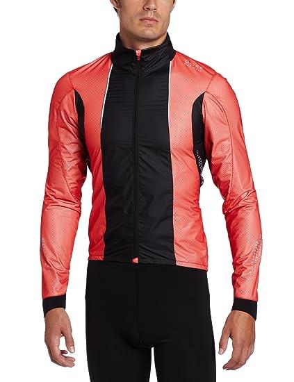 Gore Bike Wear para Hombre Xenon 2.0 Active Shell Chaqueta, Hombre, Rojo/Negro