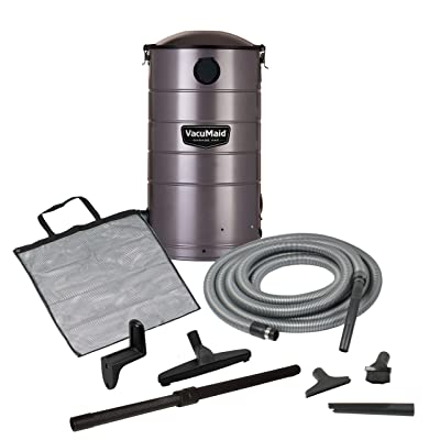 VacuMaid GV30 Wall Mounted Garage Vacuum with 30 ft Hose and Tools - Shop Wet Dry Vacuums - .com
