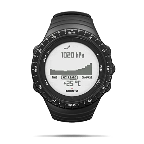 Suunto Core Wrist-Top Computer Watch with Altimeter, Barometer, Compass, and Depth