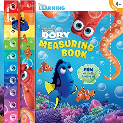 Bendon Disney Learning Measuring featuring Finding Dory Book: Toys & Games