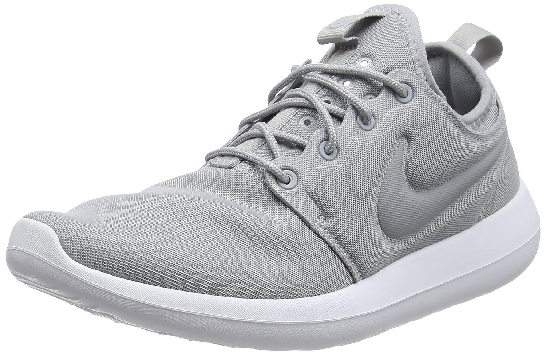 Nike Damen Roshe Two Turnschuhe Schwarz (Wolf grau Wolf grau Wolf grau Weiß)