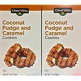 Coconut Fudge and Caramel Cookies 7oz. Just Like Samoas - Pack of 2