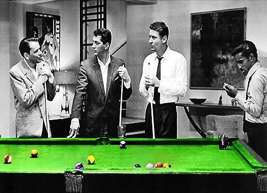 Imagen The Rat Pack en el Billar Mesa sobre lienzo, diferentes ...