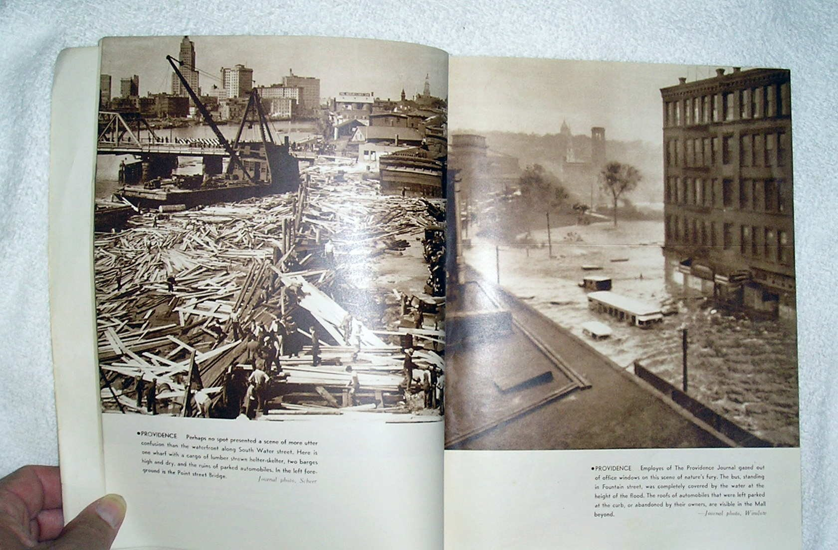 The Great Hurricane and Tidal Wave, Rhode Island: September