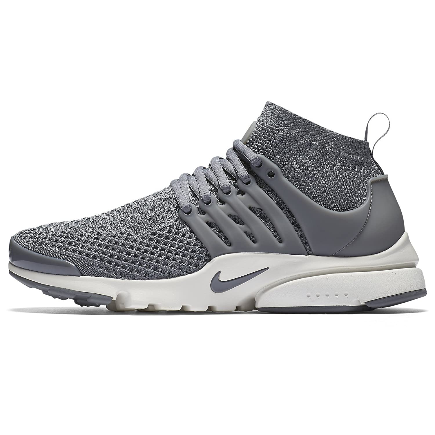 cheap for discount b53b2 92d65 Nike W Air Presto Flyknit Ultra 835738-002 Cool Grey White Women s Running  Shoes (Size 7.5)  Buy Online at Low Prices in India - Amazon.in