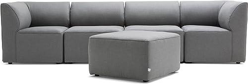 Big Joe Lux Modular Indoor / Outdoor Five Piece Sectional