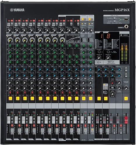 Yamaha MGP16X - Mgp-16x mesa de mezcla analógica de 16 canales ...