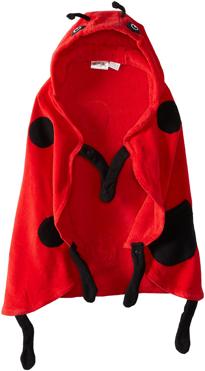 KIDORABLE Ladybug Infant Towel, Red, 0-3 Years Kidorable Girls 2-6x 2600042