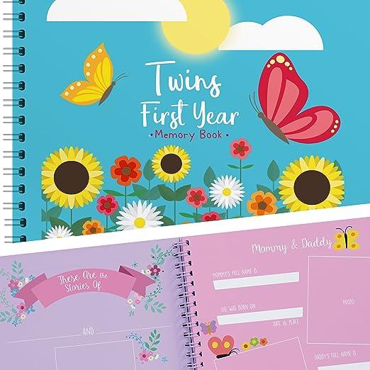 Amazon.com: Primer Año del bebé libro de memoria para ...