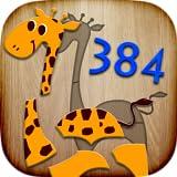 子供のための384のパズル - 教育的なゲームを教える単語と発音