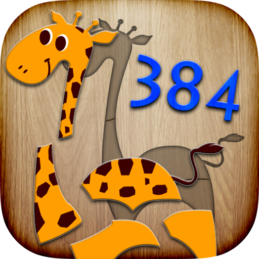 - 384 Puzzles for Kids - educational game with children learning first words & pronunciations