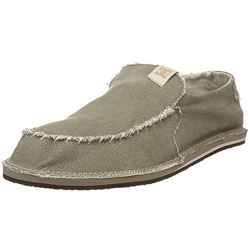 DC 302708 - Zapatillas de casa de tela para hombre, color beige, talla 47: Amazon.es: Zapatos y complementos