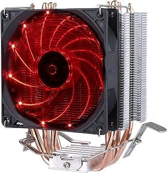 upHere Refrigerador del procesador con ventilador PMW de 92 mm ...