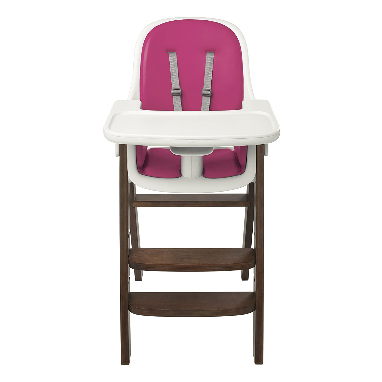 Amazon OXO Tot Sprout High Chair Pink Walnut Childrens