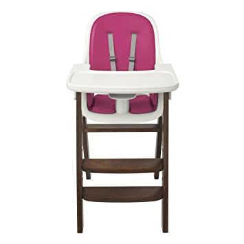 Ordinaire OXO Tot Sprout High Chair, Pink/Walnut
