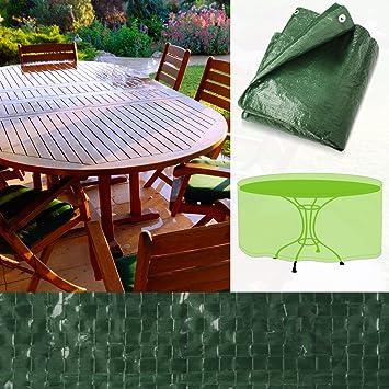 Housse de protection pour tables de jardin ovales ...