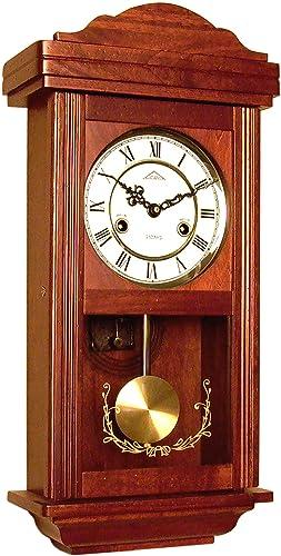 72061 Reloj a péndulo de madera de pared con movimiento mecánico carga 31 Días: Amazon.es: Relojes
