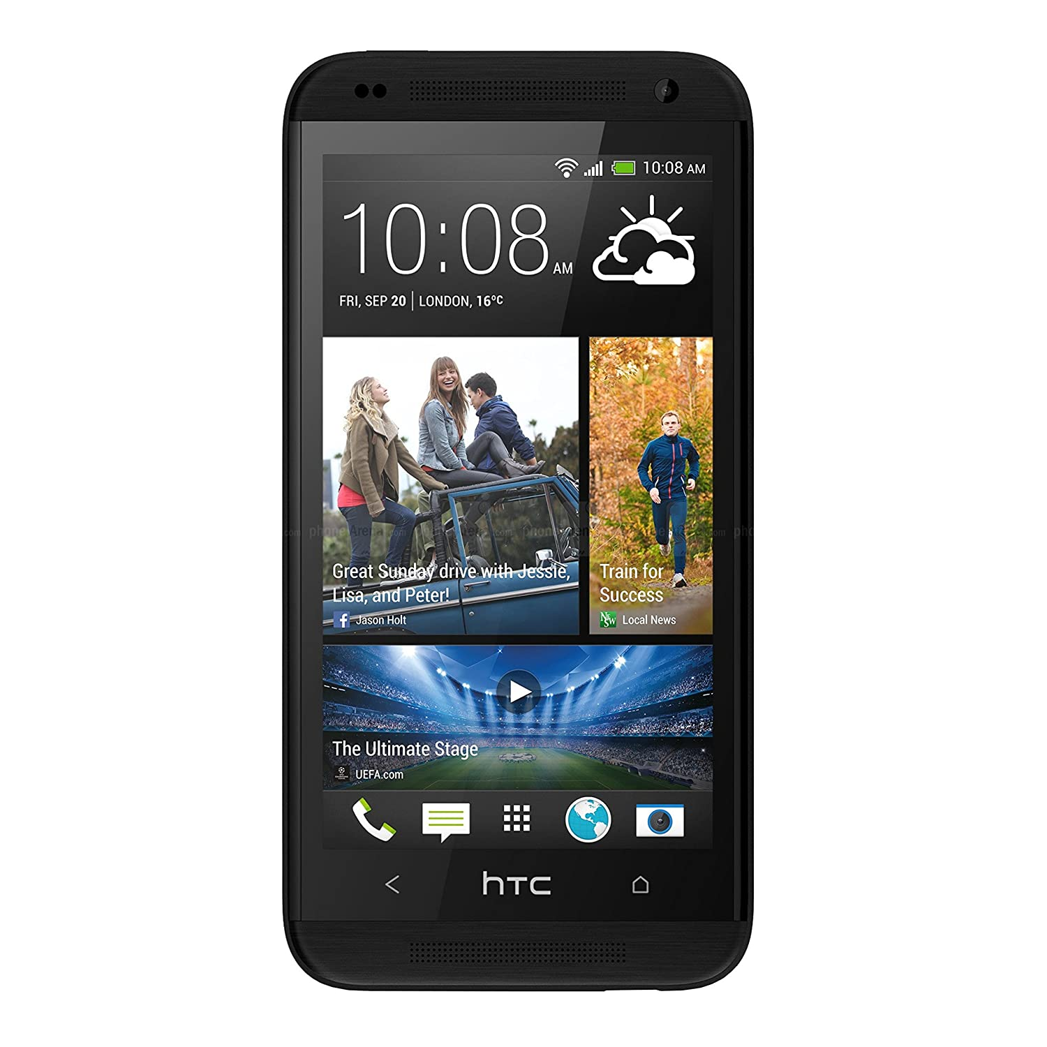 Amazon.com: HTC Desire 610 8GB Unlocked GSM 4G LTE Quad-Core Android 4.4  Smartphone - Black (No Warranty): Cell Phones & Accessories