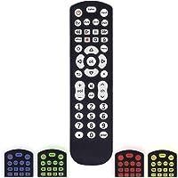 GE Color Select Backlit Universal Remote Control for Samsung, Vizio, LG, Sony, Sharp, Roku, Apple TV, RCA, Panasonic…