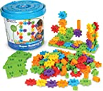 Learning Resources Gears! Gears! Gears! Super Building Toy Set, Puzzle, 150
