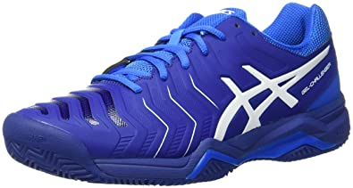 ASICS GEL-CHALLENGER 11 CLAY - Outdoor tennis shoes - electric blue/white B2yCm7DA