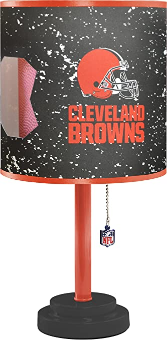 Amazon nfl cleveland browns table lamp with die cut lamp shade nfl cleveland browns table lamp with die cut lamp shade mozeypictures Choice Image