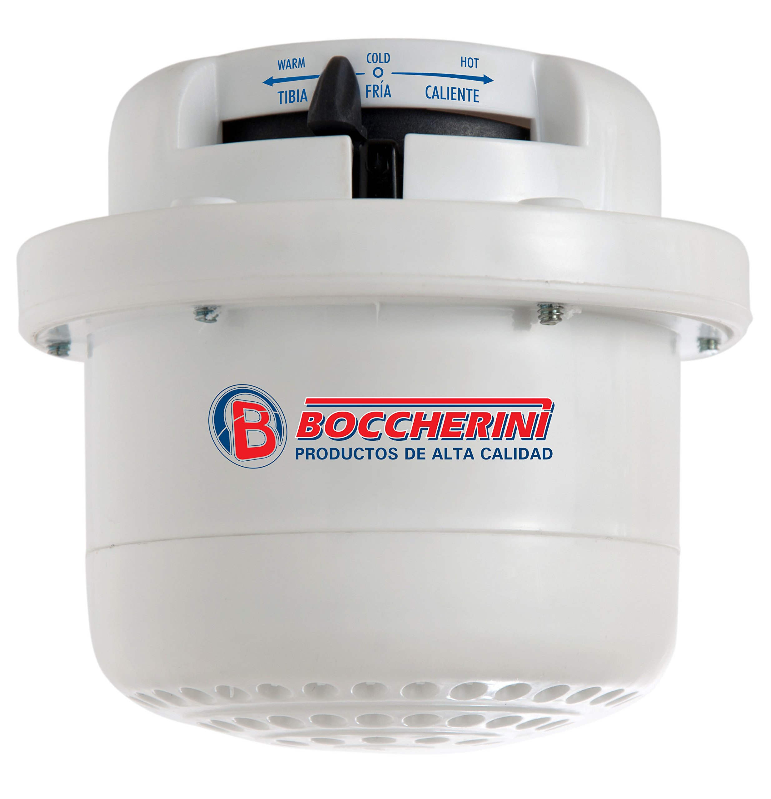 GARLAT Boccherini Electric Instant Hot Water Shower Head Heater 110V 120V Tankless + FREE wall support/tube Included