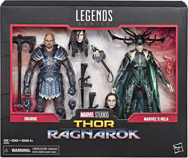 "Marvel Legends MARVEL/'S HELA 6/"" Figure 80th Thor Ragnarok Movie Studios Series"