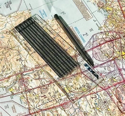 Regla de desvío de vuelo (Plotter de navegación náutica en milla): para pilotos de aviación PPL (A), LAPL, PPL (H) y CPL: Amazon.es: Oficina y papelería