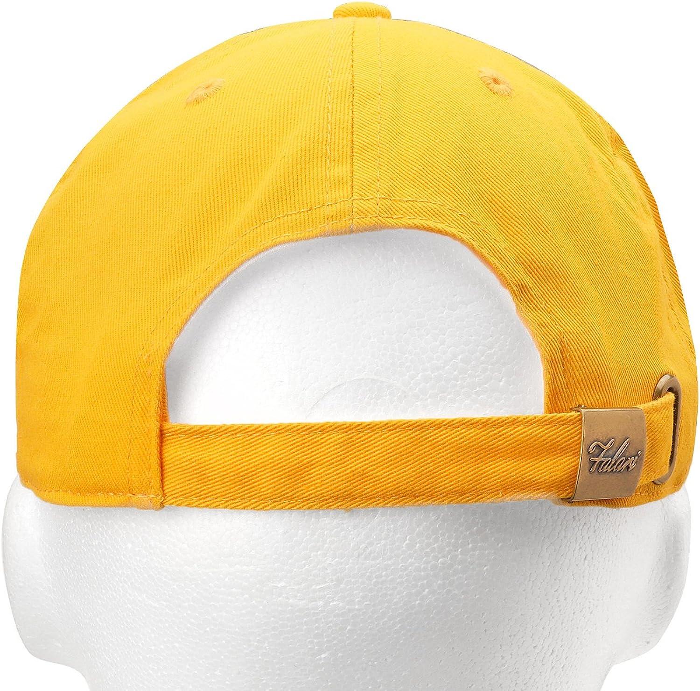 Falari 12-Pack Wholesale Classic Baseball Cap 100% Cotton Soft Adjustable Size 71vVOtXfz5L