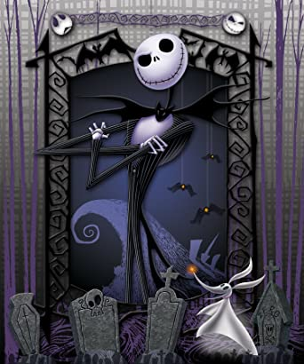 Amazon.com: The Nightmare Before Christmas Blanket Throw ~ Jack ...