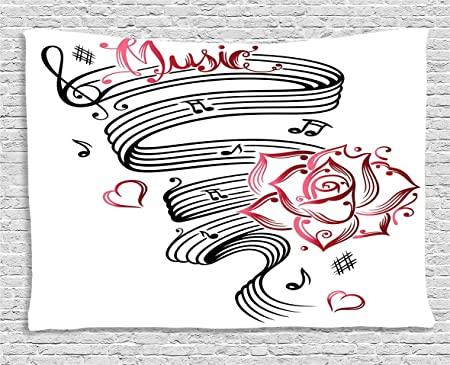 Tattoo Décor Tapisserie Par Ambesonne Crayon Dessin