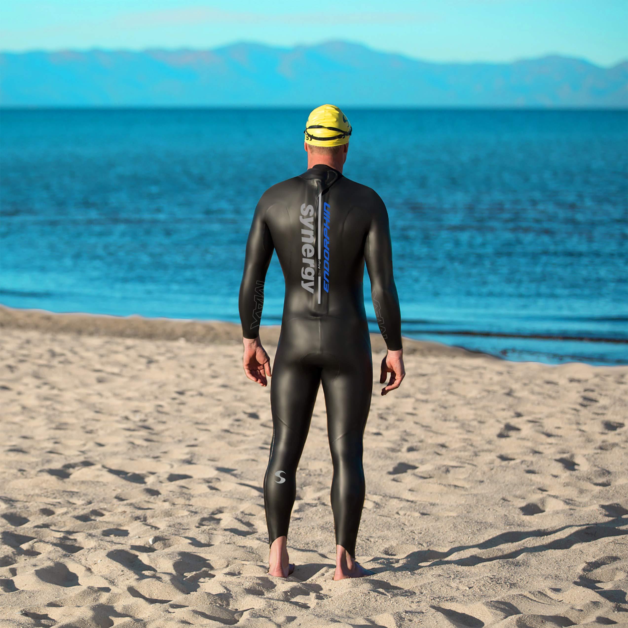 Synergy Endorphin Men's Full Sleeve Triathlon Wetsuit (M3) by Synergy (Image #6)