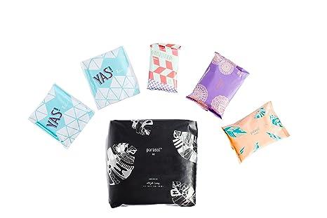 Parasol Pañal del bebé y Cuidado Femenino Con Bundle Pack 1 del pañal 18 quilates, 1