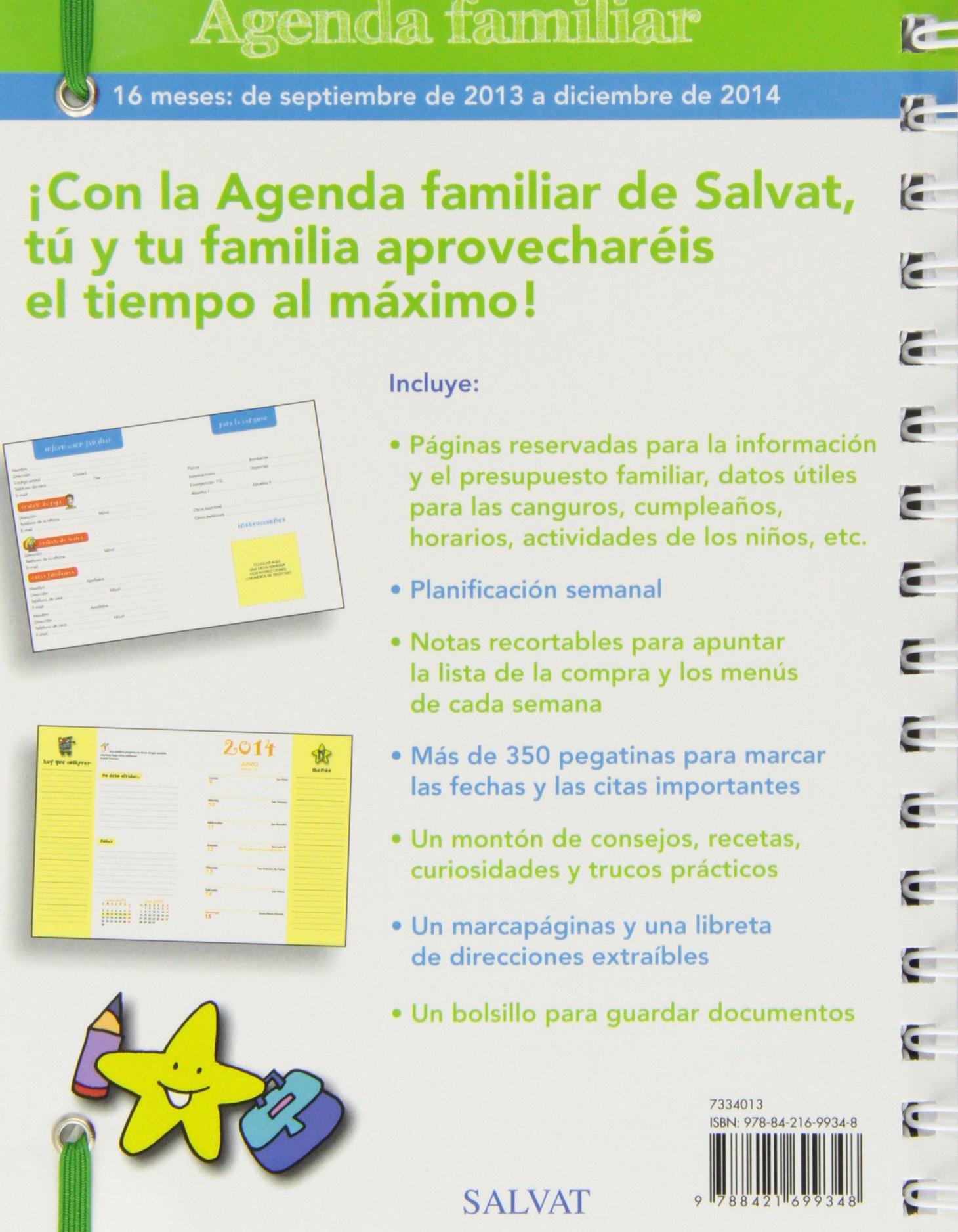 Agenda familiar septiembre 2013-diciembre 2014: VV. AA ...