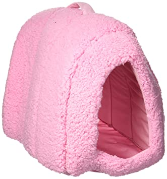 Amazon Com Best Friends By Sheri Pet Igloo Hut Sherpa Pink Cat