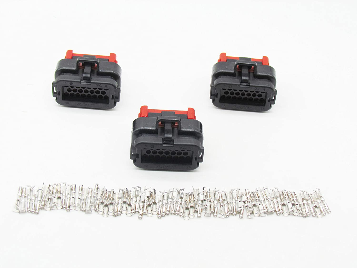 CNKF 1 Set AMP 23 pin sealed way Tyco female automotive ECU connector includes terminals 770680-1